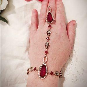 Burmese Ruby Turkish Wedding Jewelry
